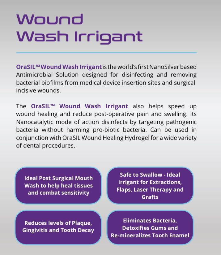 orasil wound wash irrigant